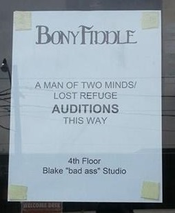Theatre – Auditions for A Man of Two Minds/Lost Refuge
