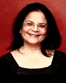 Shobha Hatte plays the over-protective mother in Bony Fiddle's theatre production A Man of Two Minds