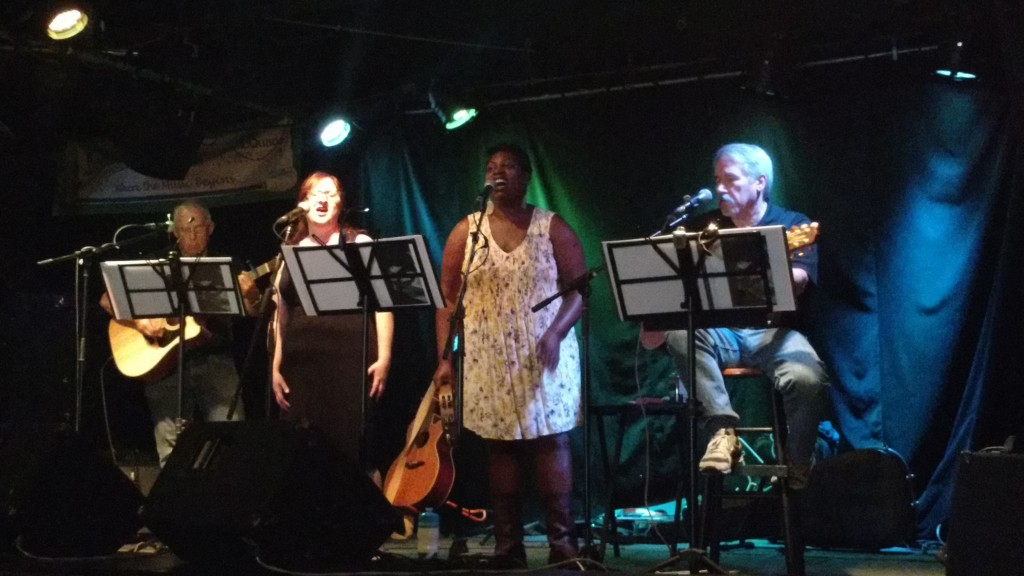 Kennedy Station live music - Richard Bacon, Wendy Koslow, Isabel Matwawana, Marty Mitchell
