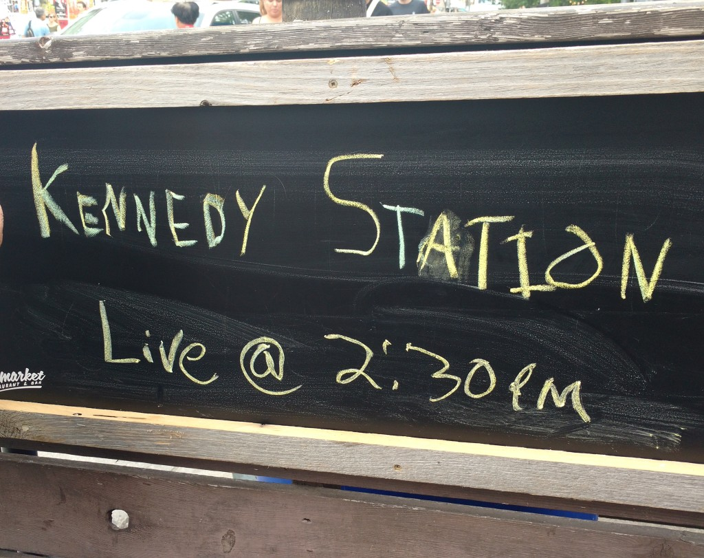 live music with Kennedy Station