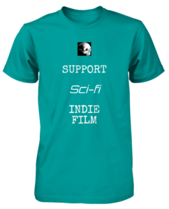 Bony Fiddle T-shirt - fundraising, support sci-fi indie film
